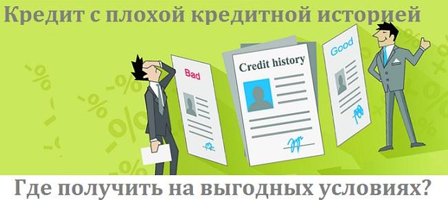 кредит с плохой кредитной историей в Райффайзенбанке