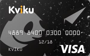 Заявка на кредитную карту  Kviku(Квику)
