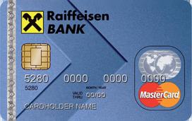 Кредитная карта Раффайзенбанка Visa/MasterCard