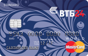 Заявка на кредитную карту ВТБ24